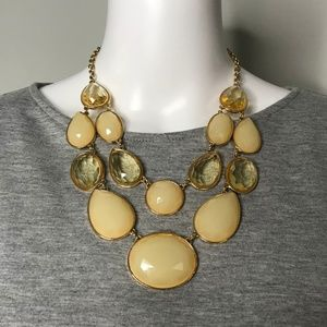 Gold Layered Statement Necklace